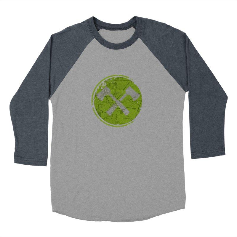 Trail Maker AVL Ed. Men's Baseball Triblend T-Shirt by CRANK. outdoors + music lifestyle clothing