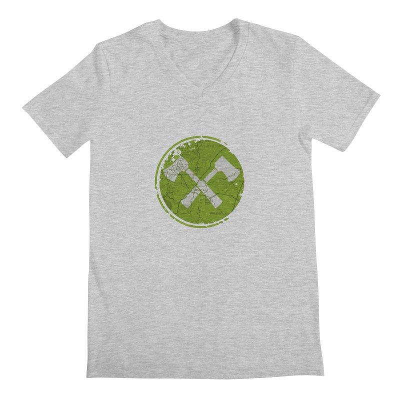 Trail Maker AVL Ed. Men's V-Neck by CRANK. outdoors + music lifestyle clothing
