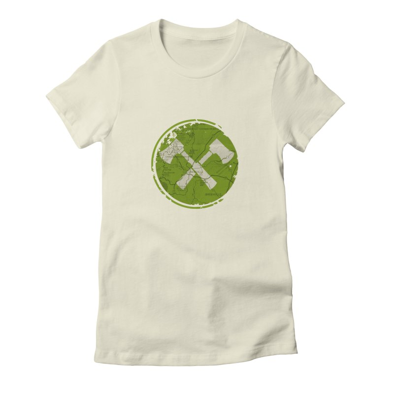 Trail Maker AVL Ed. Women's T-Shirt by CRANK. outdoors + music lifestyle clothing