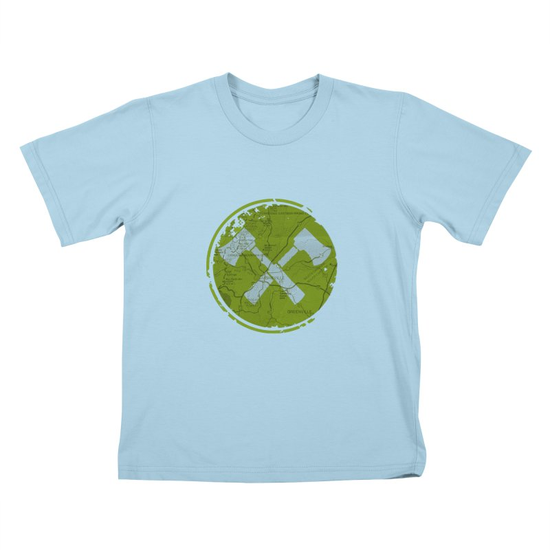 Trail Maker AVL Ed. Kids T-shirt by CRANK. outdoors + music lifestyle clothing
