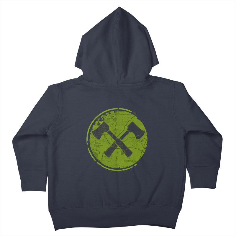Trail Maker AVL Ed. Kids Toddler Zip-Up Hoody by CRANK. outdoors + music lifestyle clothing