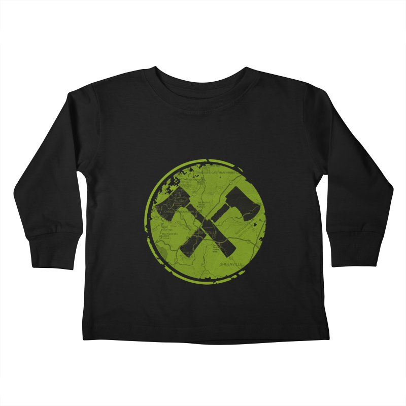 Trail Maker AVL Ed. Kids Toddler Longsleeve T-Shirt by CRANK. outdoors + music lifestyle clothing