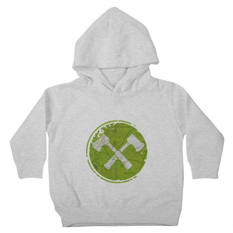 Trail Maker AVL Ed. Kids Toddler Pullover Hoody by CRANK. outdoors + music lifestyle clothing
