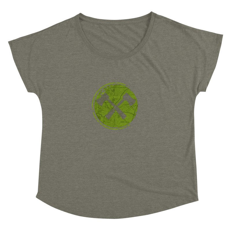 Trail Maker AVL Ed. Women's Dolman by CRANK. outdoors + music lifestyle clothing