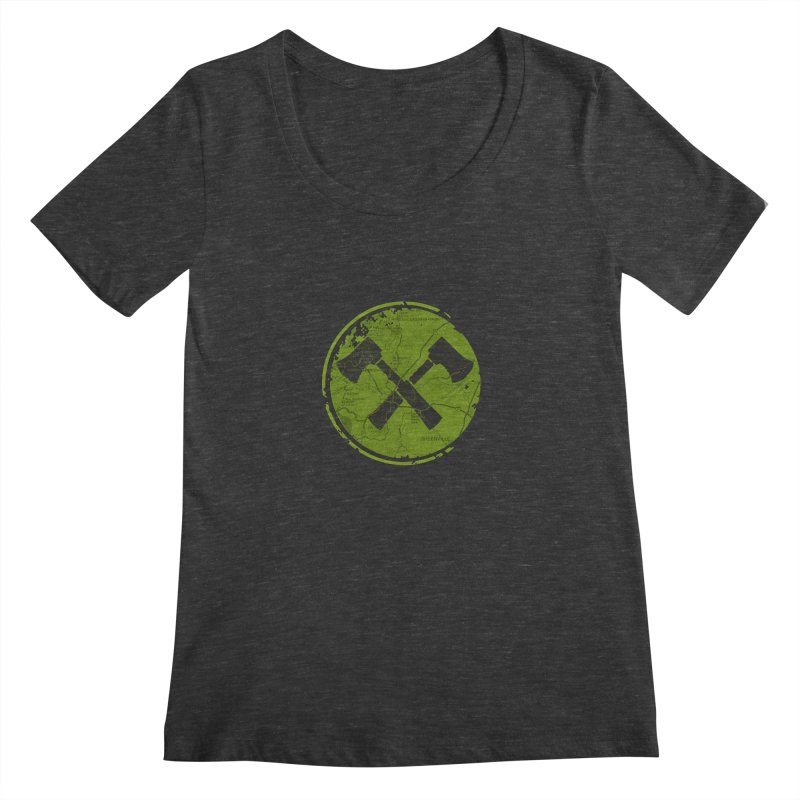 Trail Maker AVL Ed. Women's Scoopneck by CRANK. outdoors + music lifestyle clothing