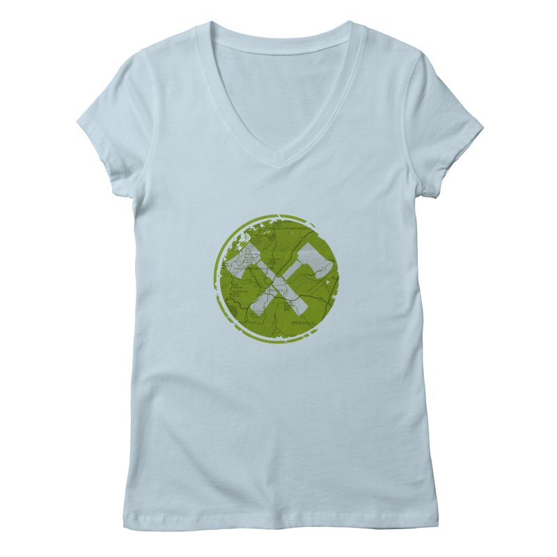 Trail Maker AVL Ed. Women's V-Neck by CRANK. outdoors + music lifestyle clothing
