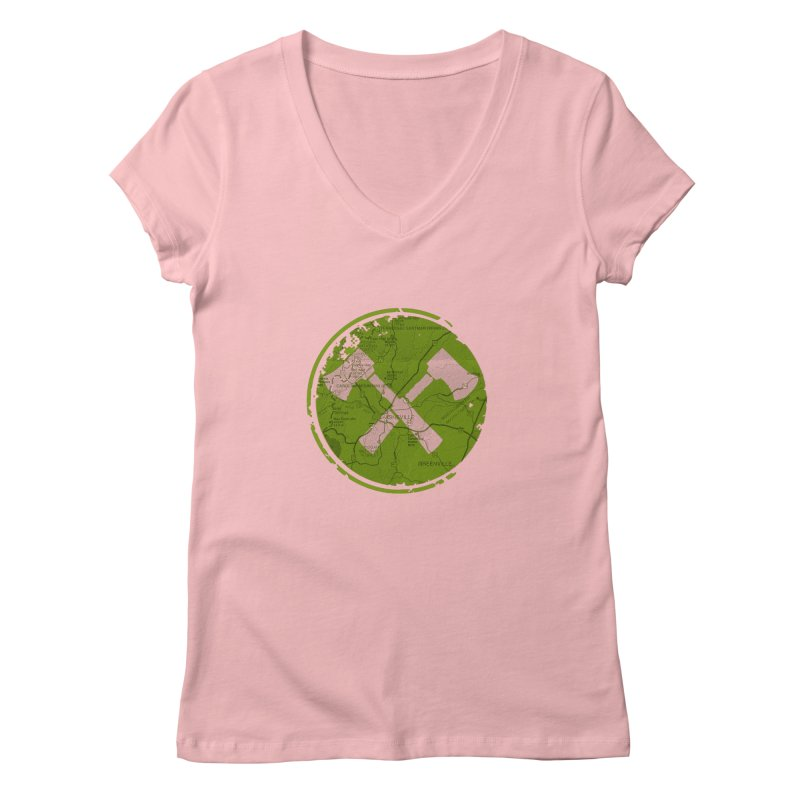 Trail Maker AVL Ed. Women's Regular V-Neck by CRANK. outdoors + music lifestyle clothing
