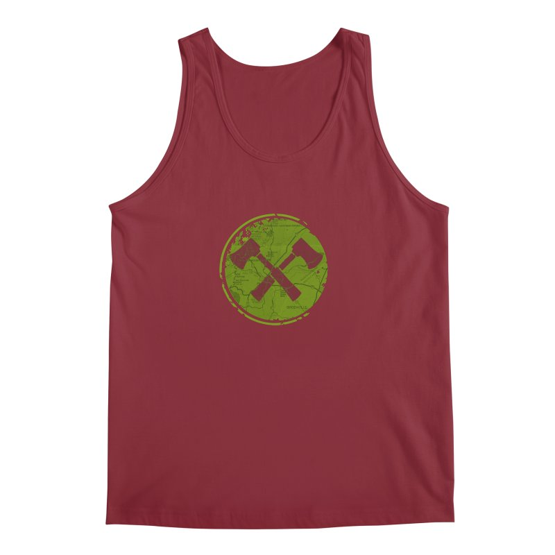 Trail Maker AVL Ed. Men's Regular Tank by CRANK. outdoors + music lifestyle clothing
