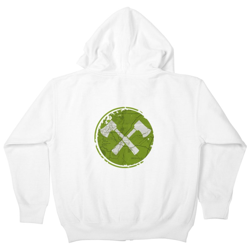 Trail Maker AVL Ed. Kids Zip-Up Hoody by CRANK. outdoors + music lifestyle clothing