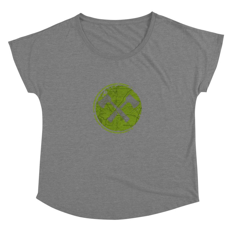 Trail Maker AVL Ed. Women's Scoop Neck by CRANK. outdoors + music lifestyle clothing