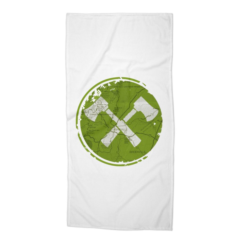 Trail Maker AVL Ed. Accessories Beach Towel by CRANK. outdoors + music lifestyle clothing