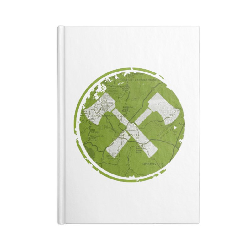 Trail Maker AVL Ed. Accessories Notebook by CRANK. outdoors + music lifestyle clothing