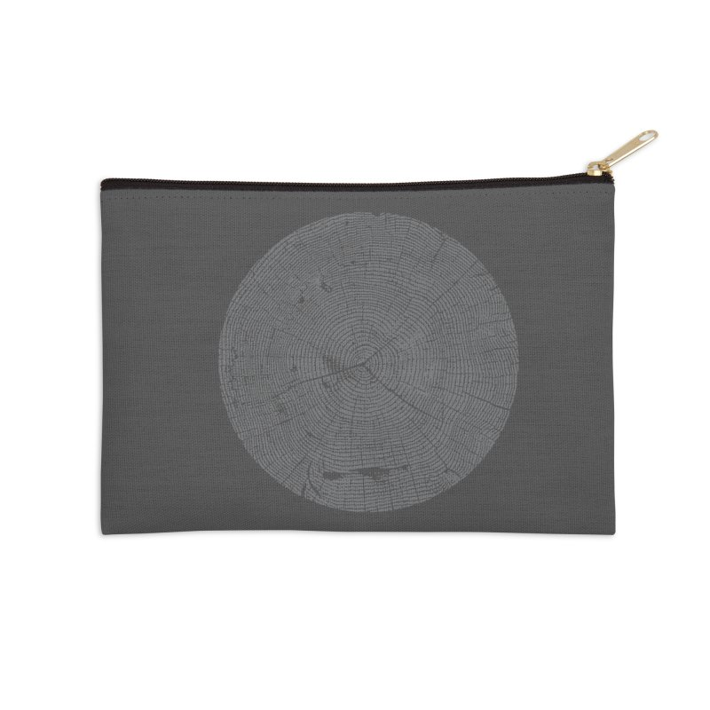 Wisdom Tree Rings Accessories Zip Pouch by CRANK. outdoors + music lifestyle clothing