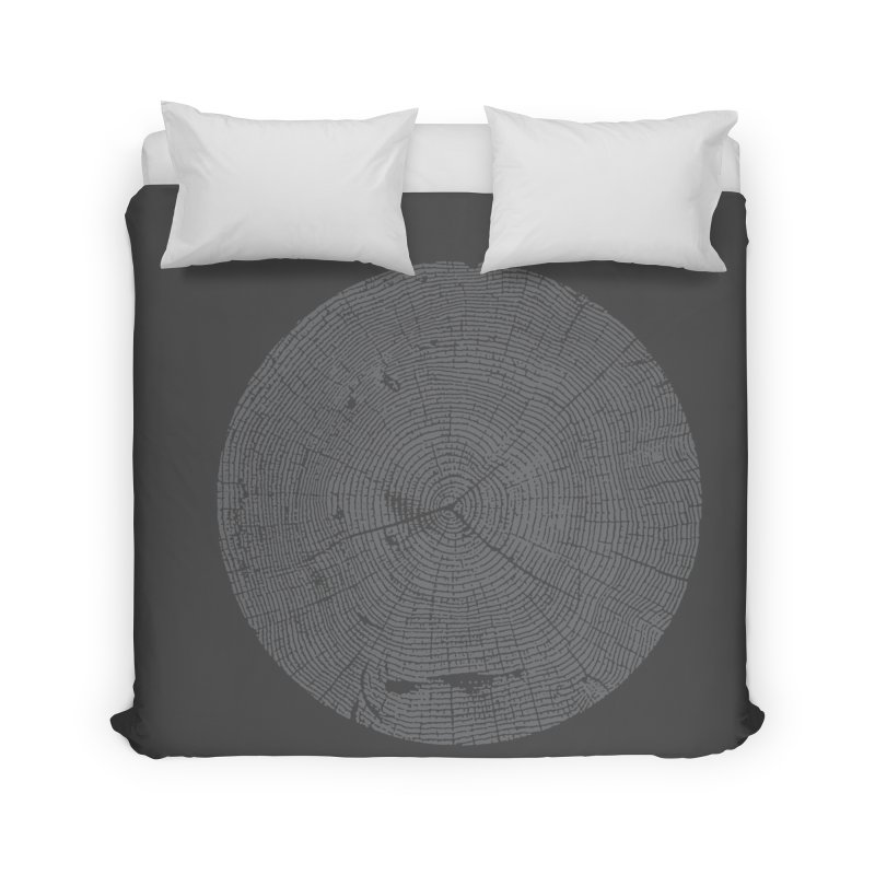 Wisdom Tree Rings Home Duvet by CRANK. outdoors + music lifestyle clothing