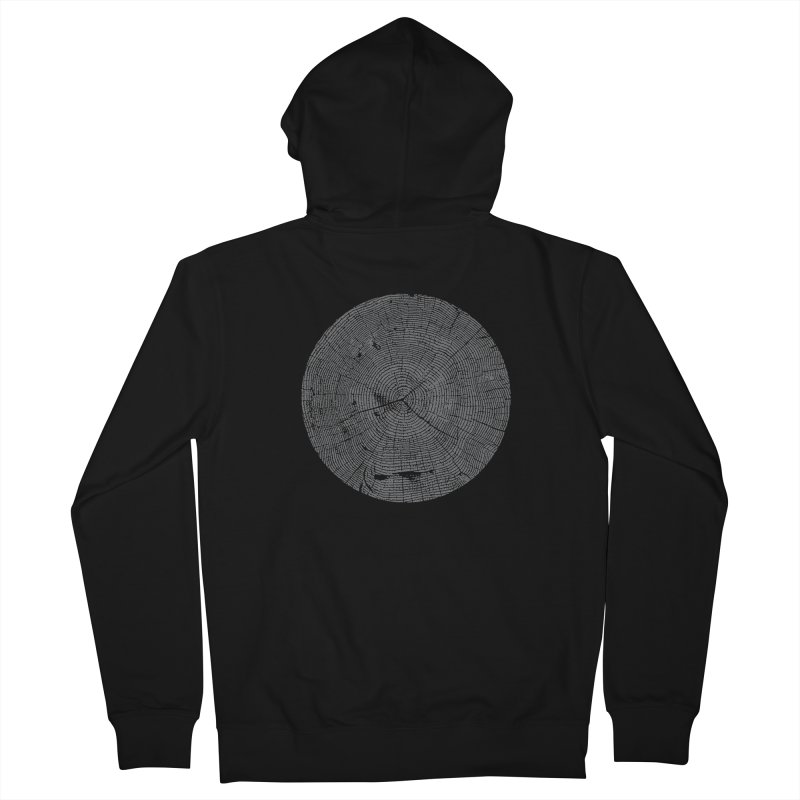 Wisdom Tree Rings Men's Zip-Up Hoody by CRANK. outdoors + music lifestyle clothing