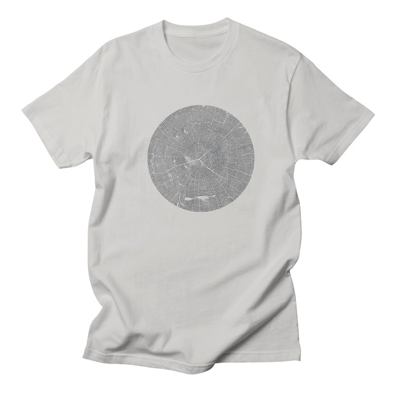 Wisdom Tree Rings Men's T-Shirt by CRANK. outdoors + music lifestyle clothing