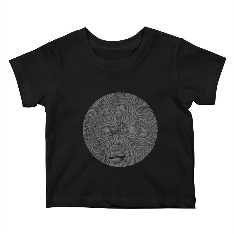 Wisdom Tree Rings Kids Baby T-Shirt by CRANK. outdoors + music lifestyle clothing