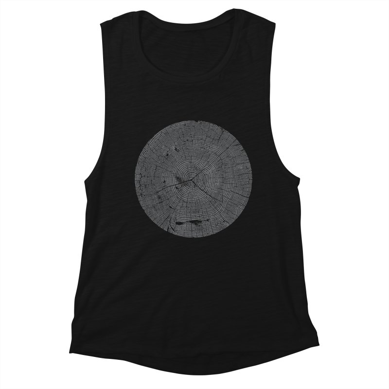 Wisdom Tree Rings Women's Tank by CRANK. outdoors + music lifestyle clothing