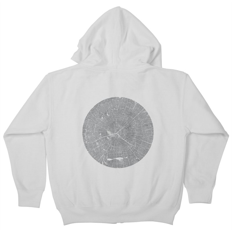 Wisdom Tree Rings Kids Zip-Up Hoody by CRANK. outdoors + music lifestyle clothing