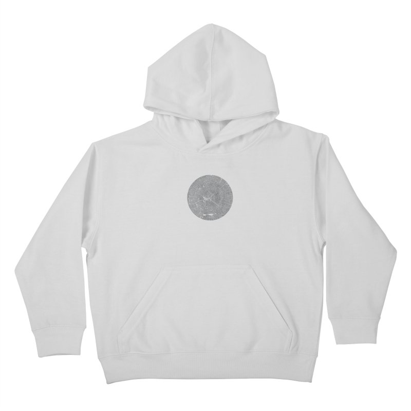 Wisdom Tree Rings Kids Pullover Hoody by CRANK. outdoors + music lifestyle clothing