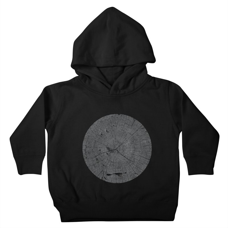 Wisdom Tree Rings Kids Toddler Pullover Hoody by CRANK. outdoors + music lifestyle clothing