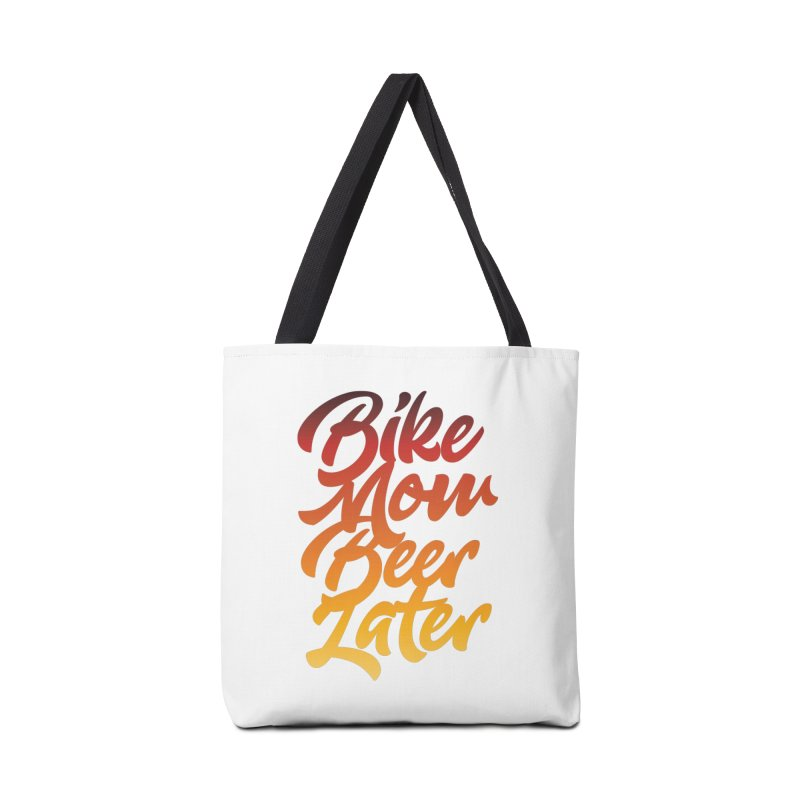 Bike Now Beer Later Accessories Bag by CRANK. outdoors + music lifestyle clothing