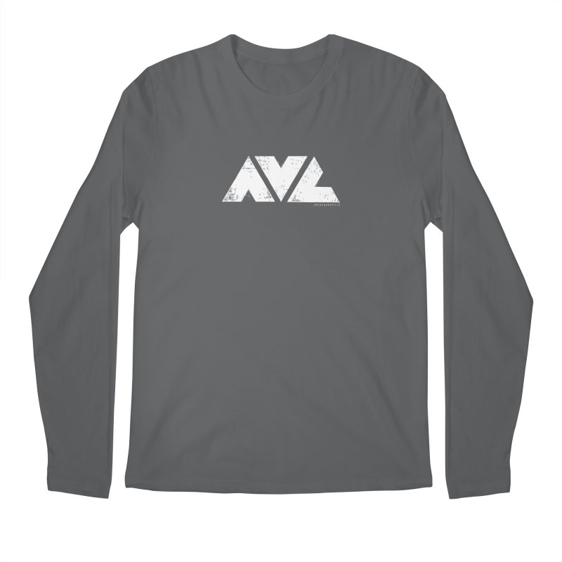 AVL #rideasheville  Men's Longsleeve T-Shirt by CRANK. outdoors + music lifestyle clothing