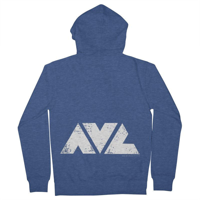 AVL #rideasheville BIG Women's Zip-Up Hoody by CRANK. outdoors + music lifestyle clothing