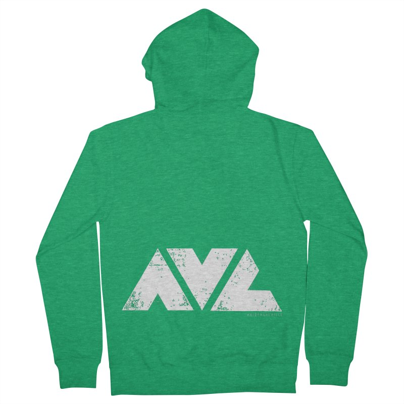 AVL #rideasheville BIG Men's Zip-Up Hoody by CRANK. outdoors + music lifestyle clothing