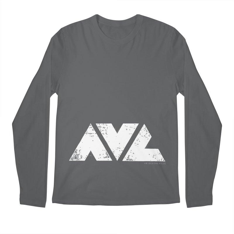 AVL #rideasheville BIG Men's Longsleeve T-Shirt by CRANK. outdoors + music lifestyle clothing