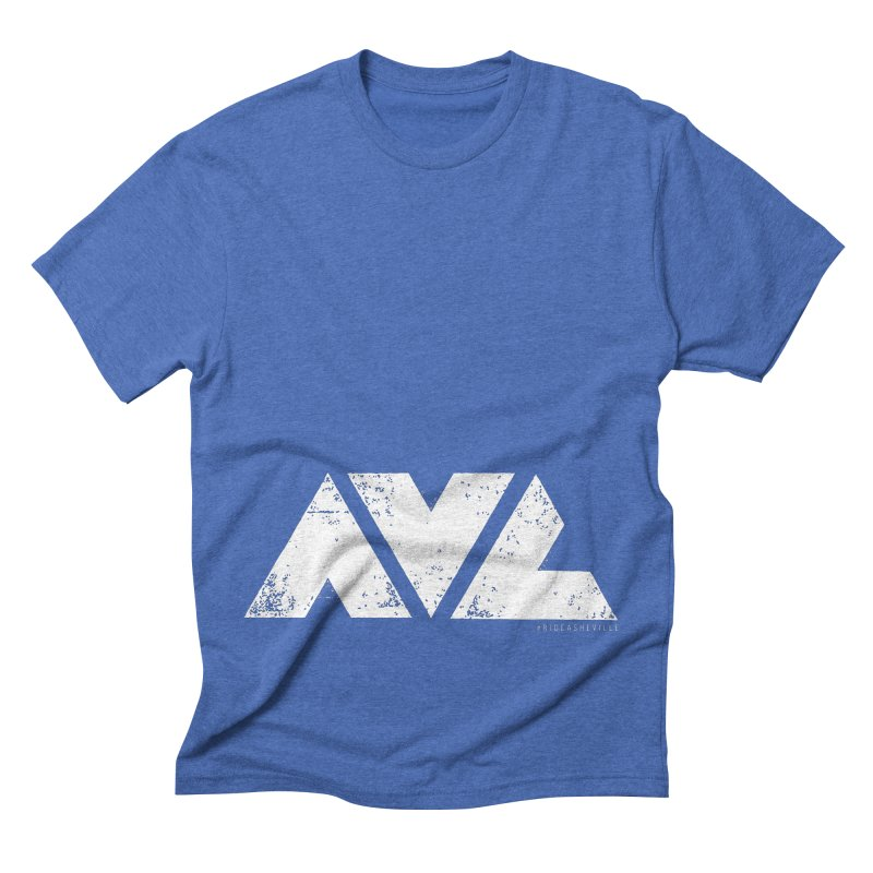 AVL #rideasheville BIG Men's T-Shirt by CRANK. outdoors + music lifestyle clothing