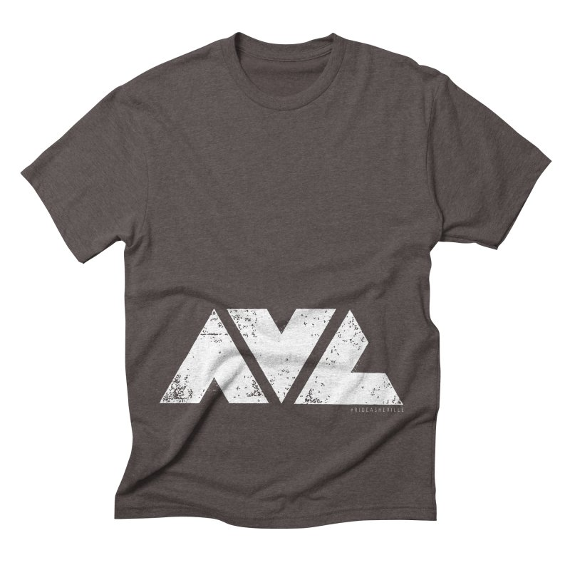 AVL #rideasheville BIG Men's T-Shirt by CRANK. outdoors + music lifestyle clothing
