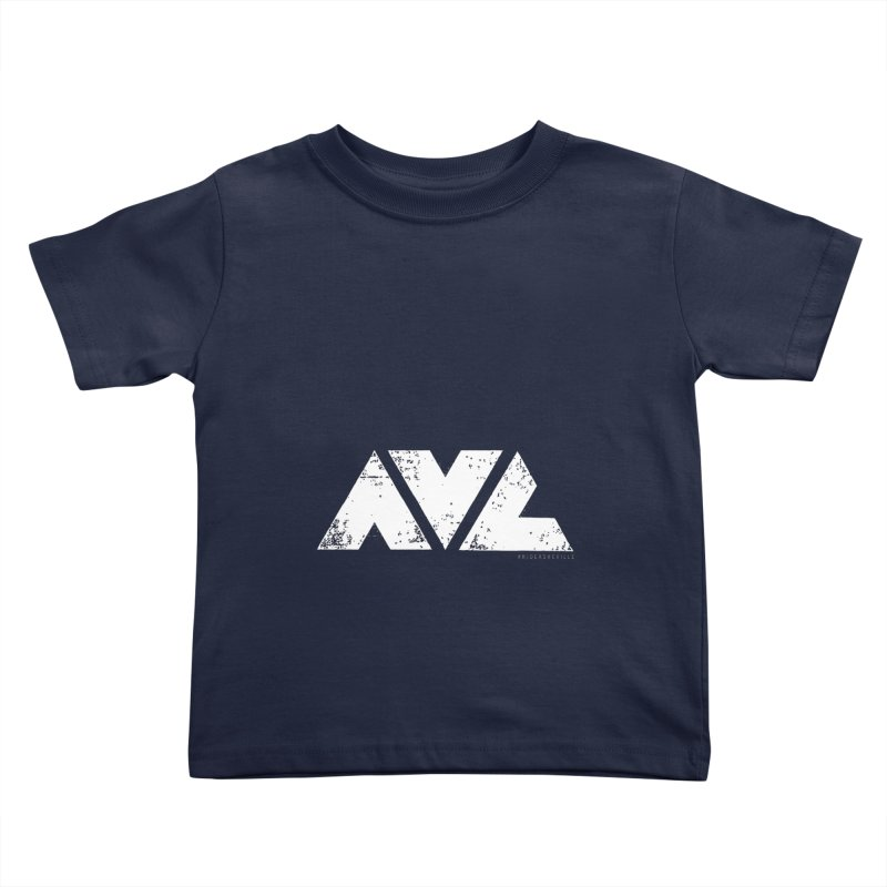 AVL #rideasheville BIG Kids Toddler T-Shirt by CRANK. outdoors + music lifestyle clothing