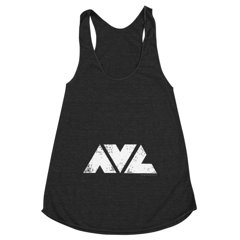 AVL #rideasheville BIG Women's Tank by CRANK. outdoors + music lifestyle clothing