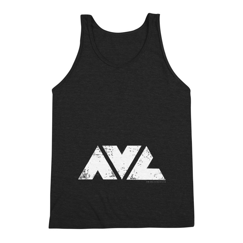 AVL #rideasheville BIG Men's Tank by CRANK. outdoors + music lifestyle clothing