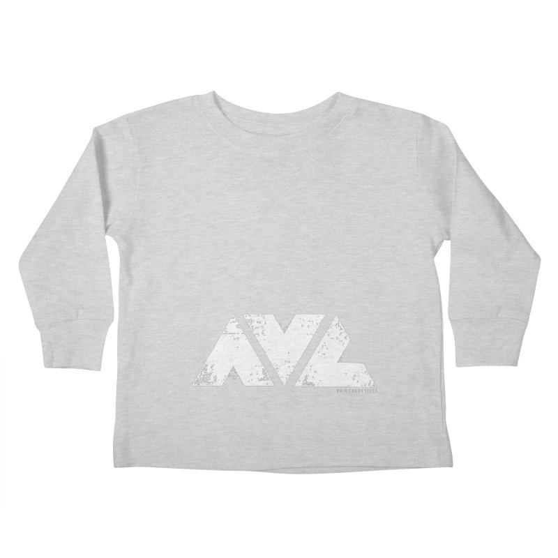 AVL #rideasheville BIG Kids Toddler Longsleeve T-Shirt by CRANK. outdoors + music lifestyle clothing