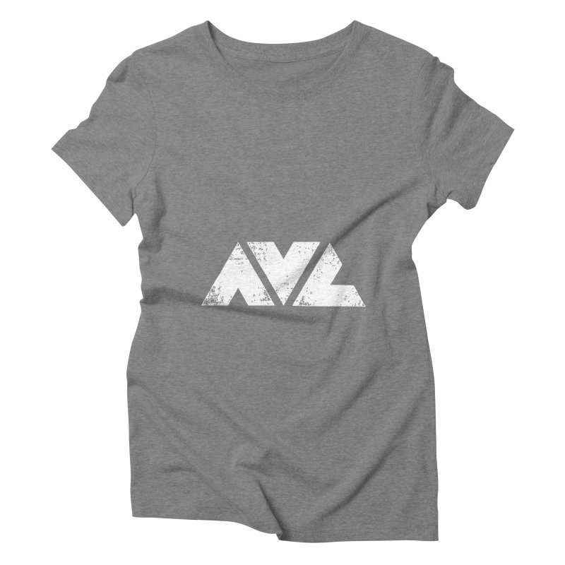 AVL #rideasheville BIG Women's Triblend T-shirt by CRANK. outdoors + music lifestyle clothing