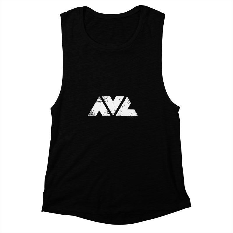 AVL #rideasheville BIG Women's Muscle Tank by CRANK. outdoors + music lifestyle clothing