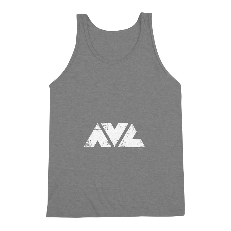 AVL #rideasheville BIG Men's Triblend Tank by CRANK. outdoors + music lifestyle clothing