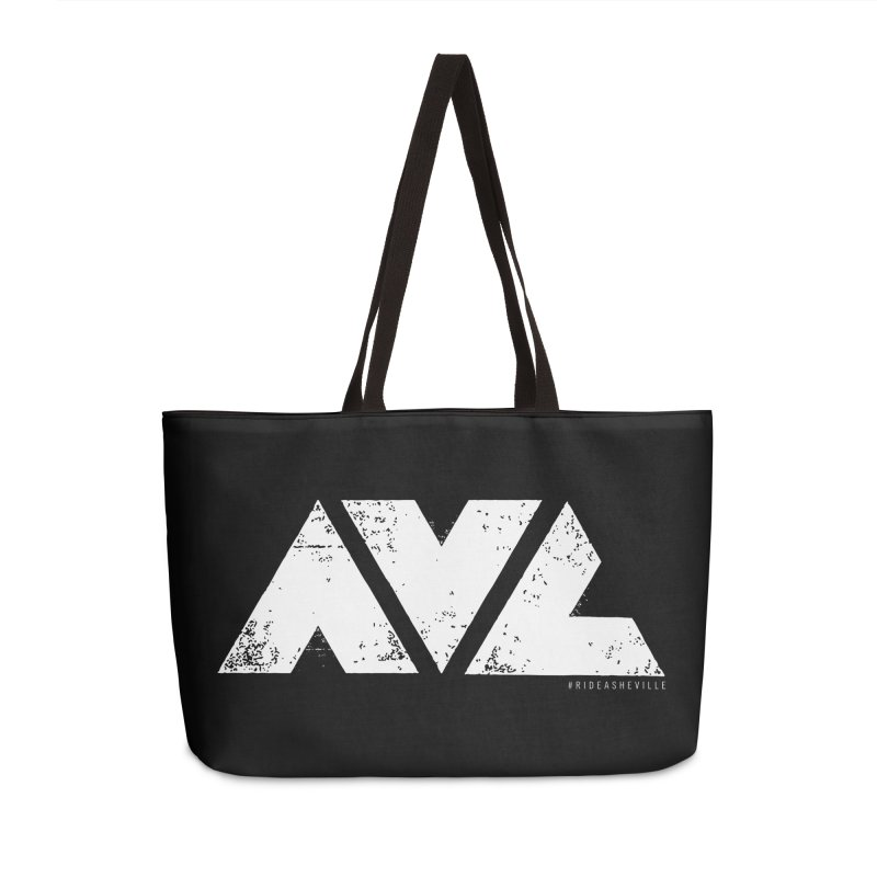 AVL #rideasheville BIG Accessories Bag by CRANK. outdoors + music lifestyle clothing