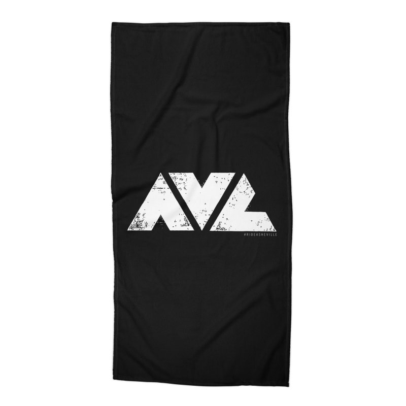 AVL #rideasheville BIG Accessories Beach Towel by CRANK. outdoors + music lifestyle clothing