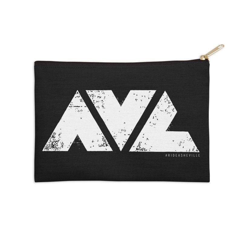 AVL #rideasheville BIG Accessories Zip Pouch by CRANK. outdoors + music lifestyle clothing