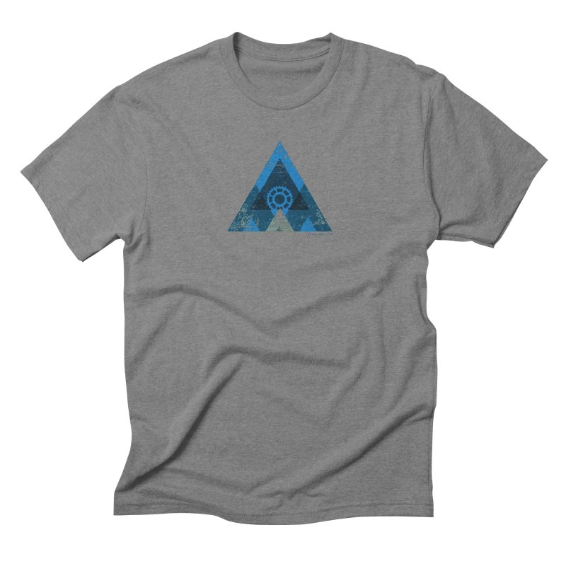 Hey Mountain Men's Triblend T-shirt by CRANK. outdoors + music lifestyle clothing