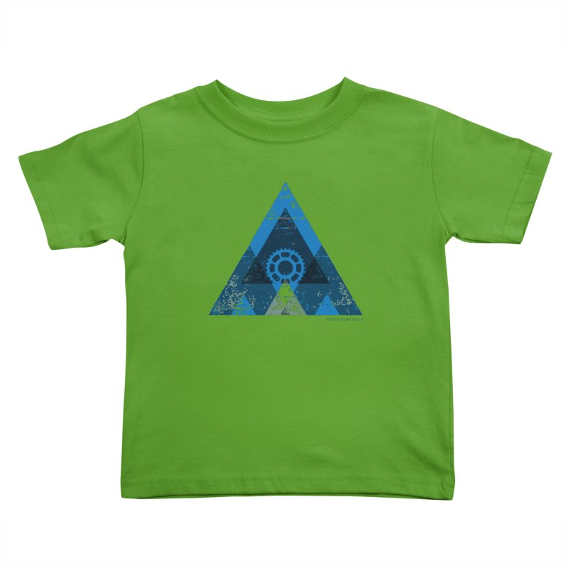 Hey Mountain Kids Toddler T-Shirt by CRANK. outdoors + music lifestyle clothing