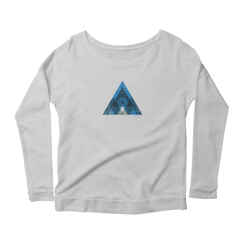 Hey Mountain Women's Longsleeve T-Shirt by CRANK. outdoors + music lifestyle clothing
