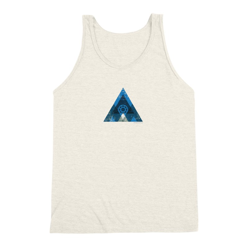 Hey Mountain Men's Triblend Tank by CRANK. outdoors + music lifestyle clothing