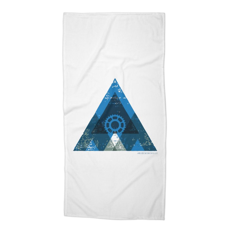 Hey Mountain Accessories Beach Towel by CRANK. outdoors + music lifestyle clothing