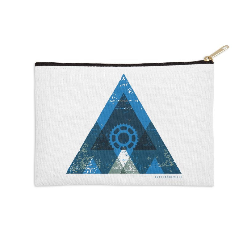 Hey Mountain Accessories Zip Pouch by CRANK. outdoors + music lifestyle clothing