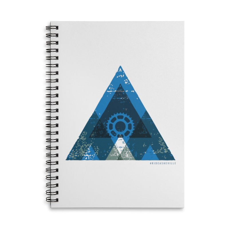 Hey Mountain Accessories Lined Spiral Notebook by CRANK. outdoors + music lifestyle clothing