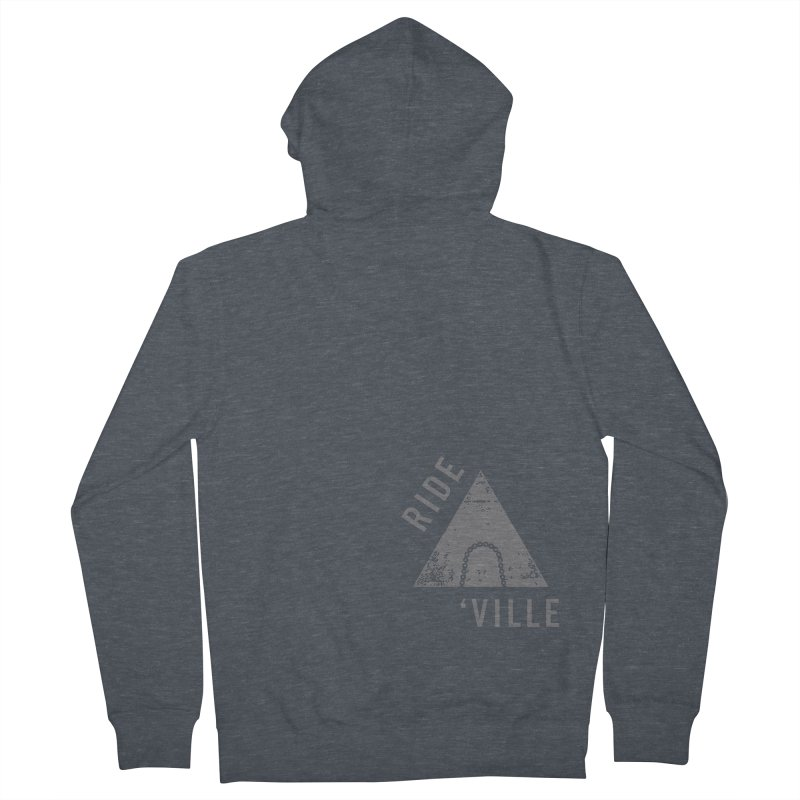 RIDE AVL CHAIN Women's Zip-Up Hoody by CRANK. outdoors + music lifestyle clothing